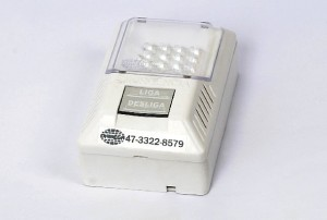 Luminária de Emergência 12 LED Convencional
